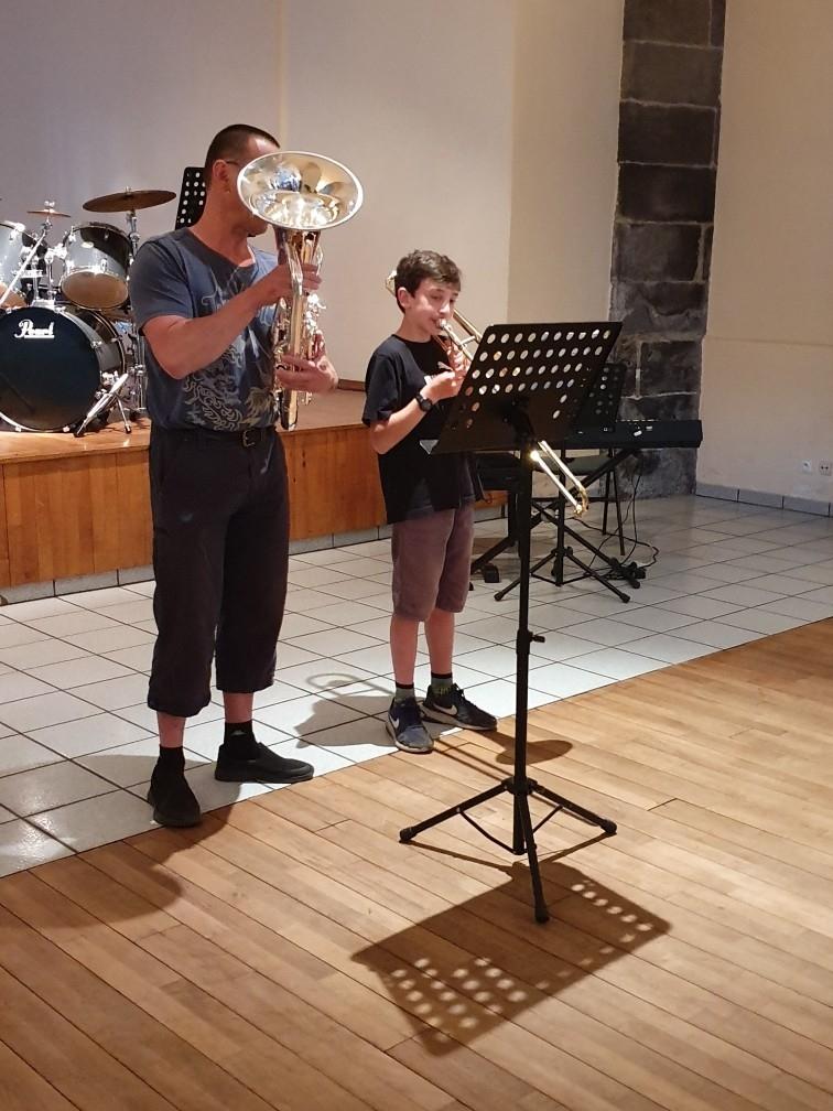 tuba & trombone